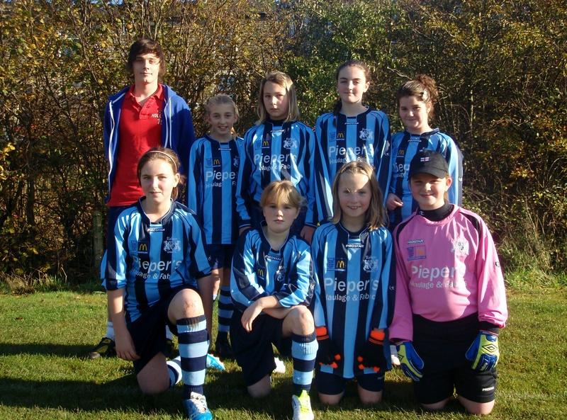 FC United U12 Girls Team